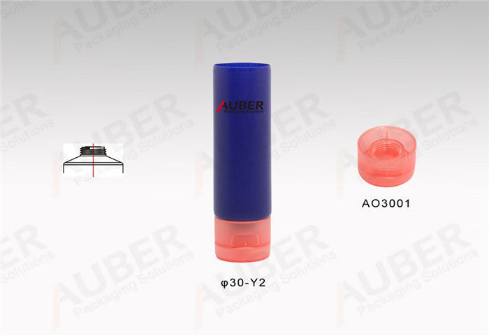 Customized D30mm Squeeze Lotion Tubes with Flip Top Cap