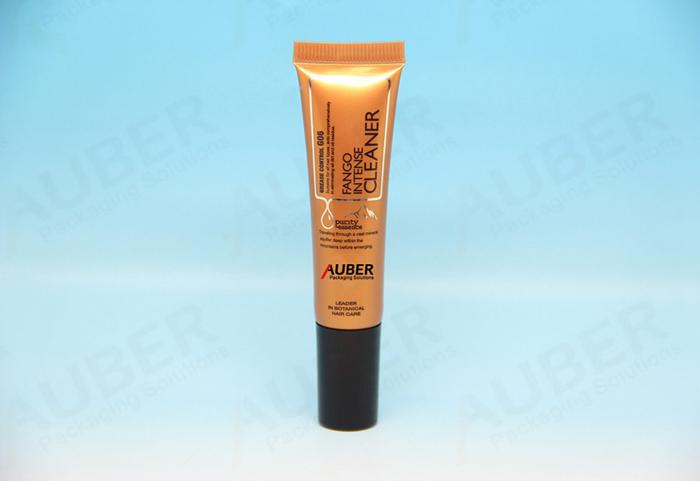 Gold Nozzle Tube with Black Screw Cap