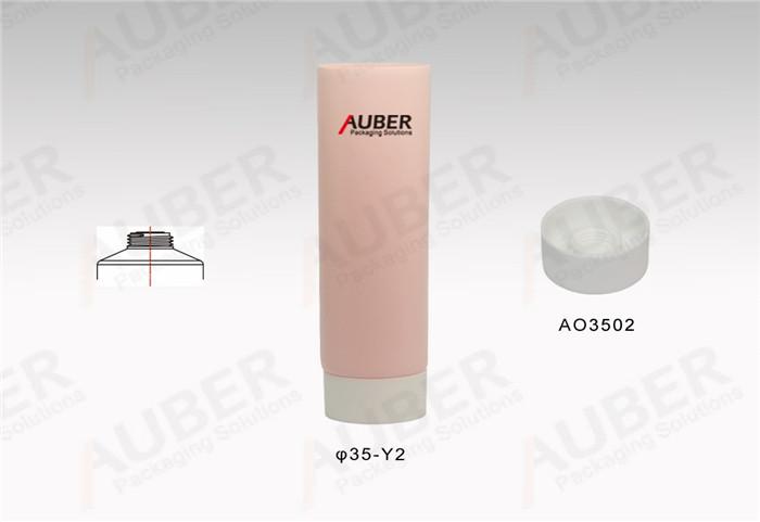 D35mm Skincare Plastic Tubes with Screw On Cap