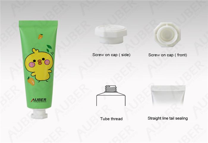D25mm Hand Cream Aluminum Tubes Free Samples