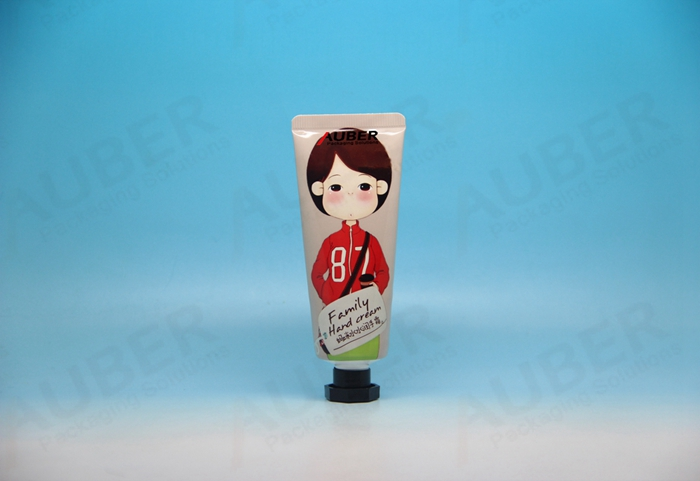 D30mm Pink Aluminum Plastic Laminated Tube Packaging for Young Lady skincare product