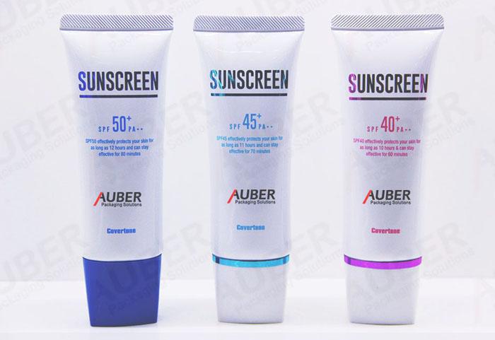 D40mm Plastic Skincare Packaging