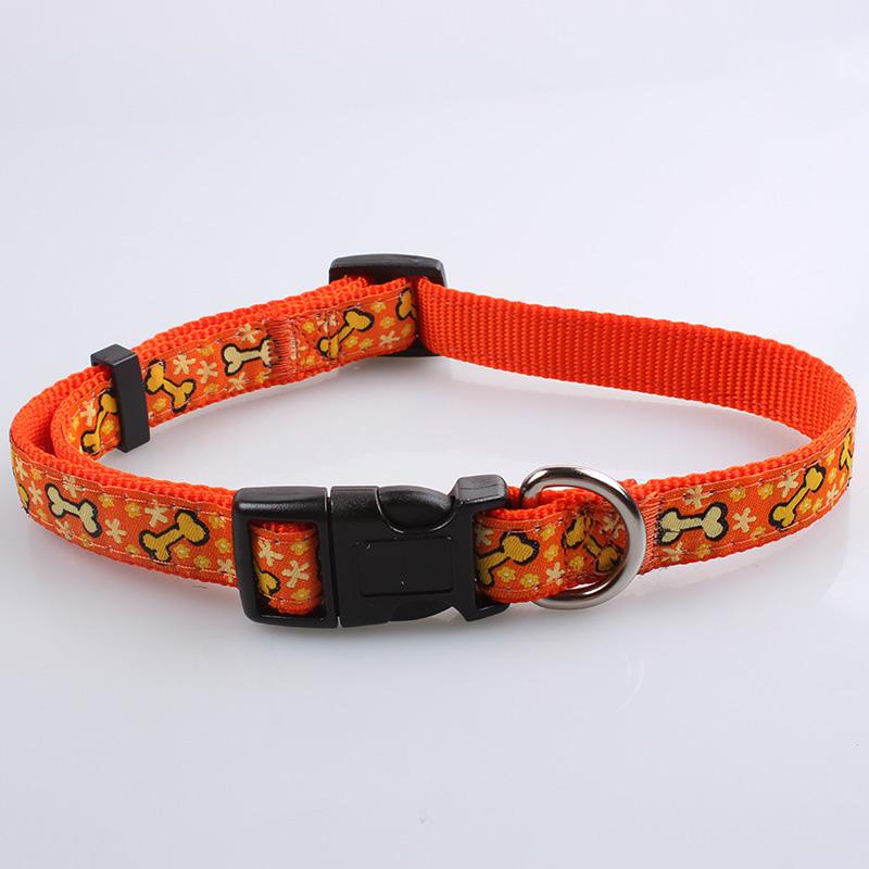 Benutzerdefinierte Hundehalsbänder Lieferant: Promotion Großhandel Hundehalsbänder-QQpets