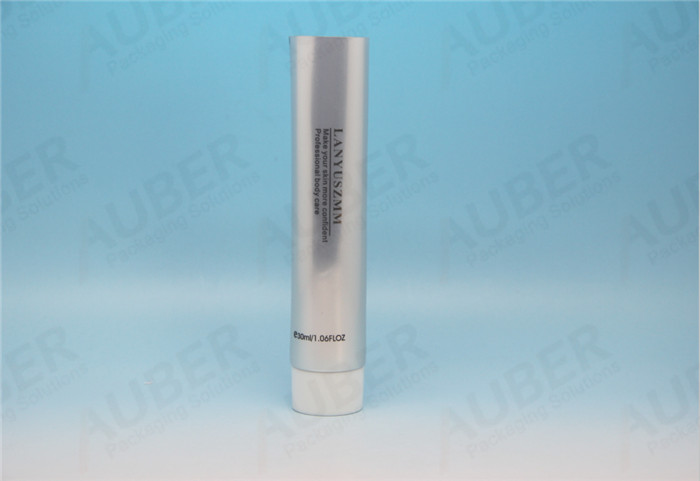 Metal Squeeze Tubes with Screw On Cap