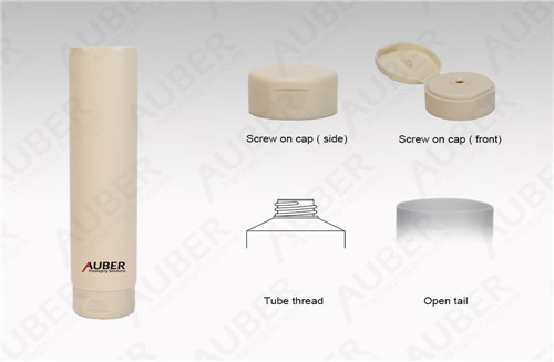 D50mm Hair Mask Packaging Tube with Flip Top Cap