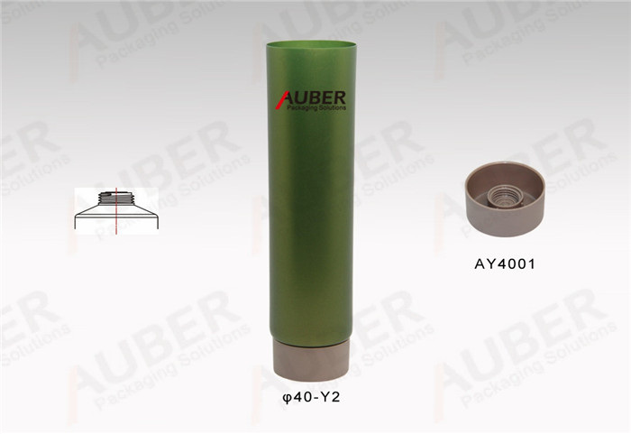 D40mm Cosmetic Soft Tubes with Screw On Cap