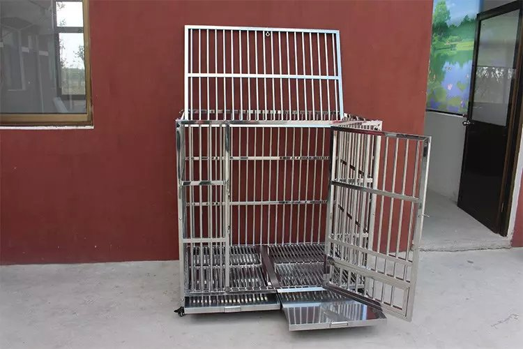 Vet Clinic Stainless Steel Pet Animal Cage
