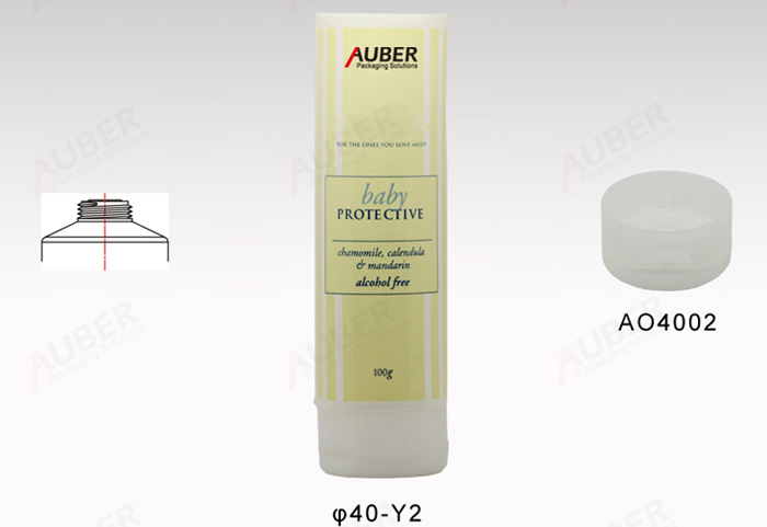 40mm dia. Face Mask Packaging Tube