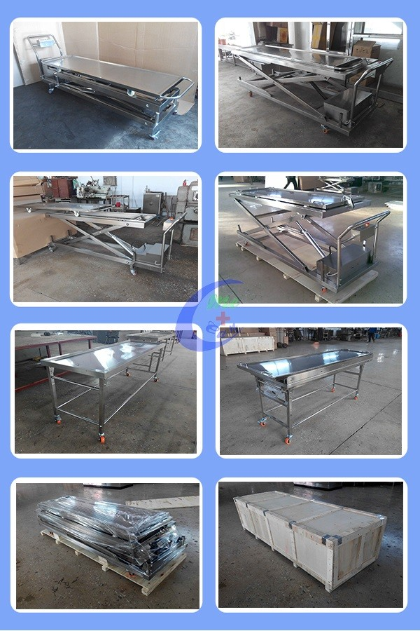more pictures of mortuary body lifter cart