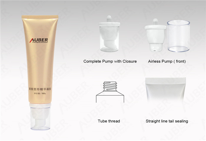 D35mm Airless Tubes Cosmetic for Body Shaping Cream