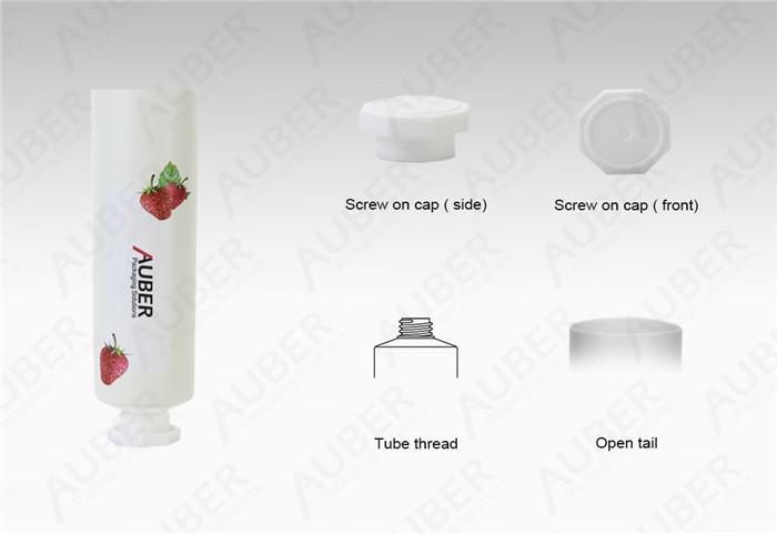 Fruit Aluminum Hand Cream Tubes