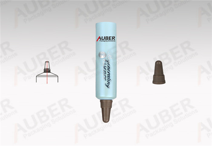 Auber D16mm Nozzle Beauty Care Tube Packaging Vendor with Pointed Screw On Cap