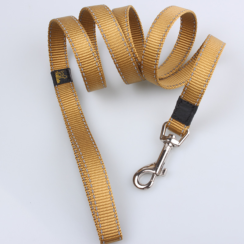 Reflective dog leads: Hot sale best reflective dog leash light at dark-QQPETS