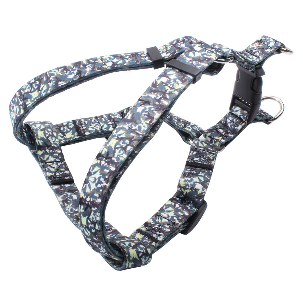 Walking Harness: Camo Dog Harness Customized With Logo Supplies-qqpets