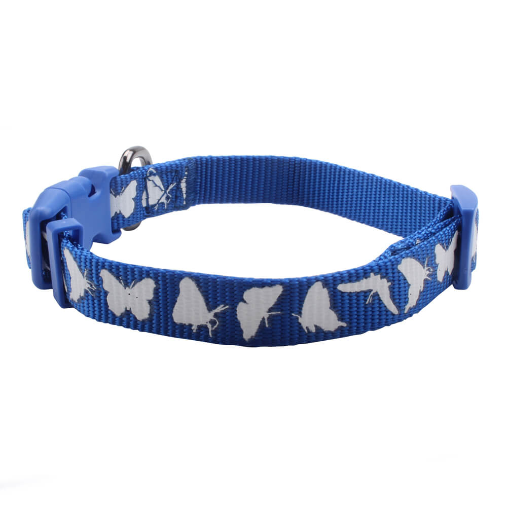 Handmade Pet Collars: Wholesale Nylon Personalized Pet Collars Supplier-qqpets