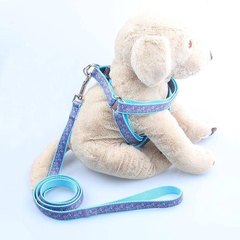 개 가죽 끈 및 마구 공급 업체 : 도매 나일론 자카드 개 가죽 끈 및 마구