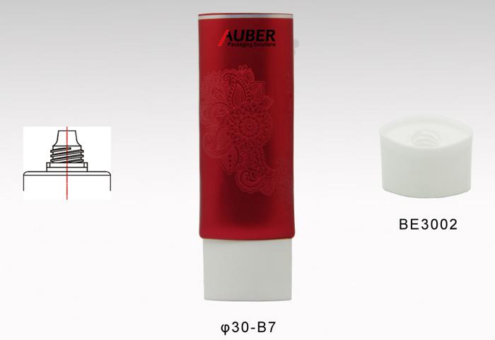 1.5oz red beautiful Silk Screen Printing For Cream