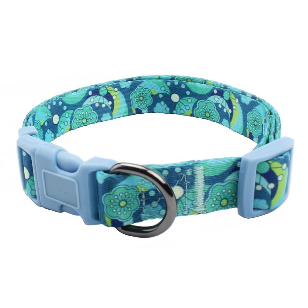 Fabricante de collar de ladridos para perros: Collares de poliéster para perros de promoción-QQpets