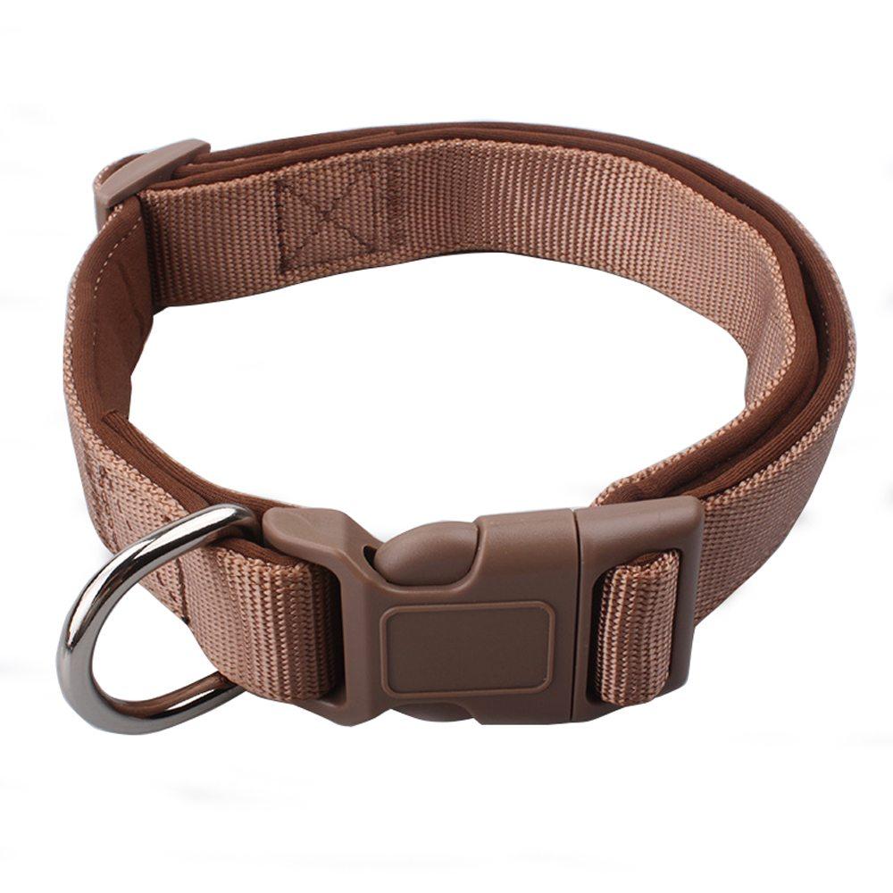 Padded Dog Collars: Nylon Custom Padded Dog Collars Factory-QQpets