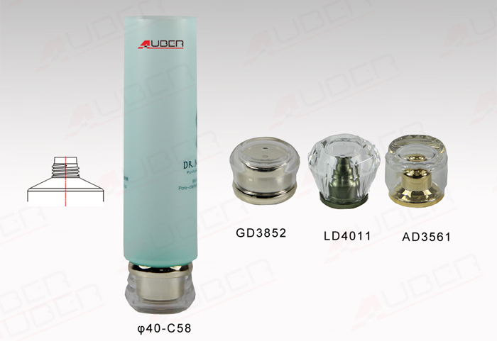 This is a D40mm Clear Packaging Tube.