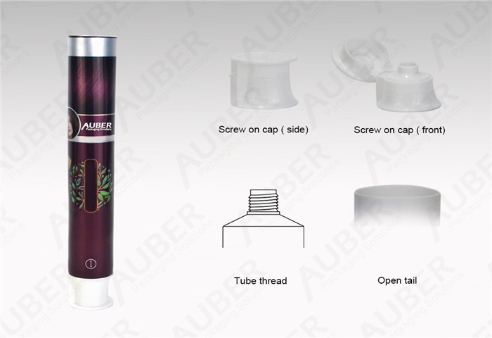 D30 Metal Laminated Tubes for Hair Coloring Product with Flip Top Cap