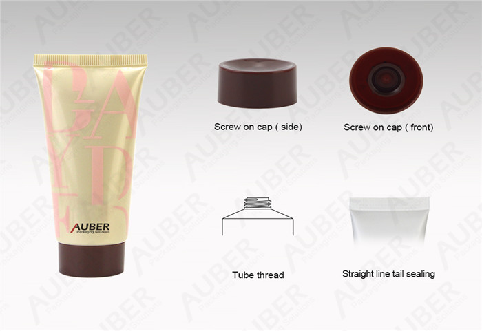 Customized Cosmetic Plastic Tube