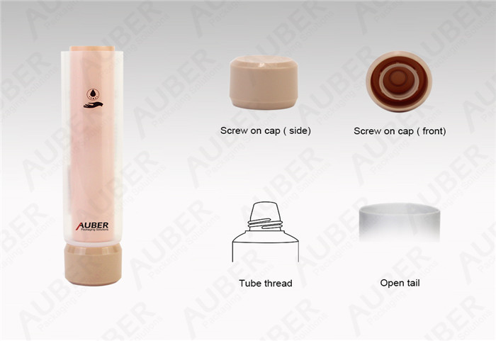 Dual Chamber Cosmetic Tube Manufacturer