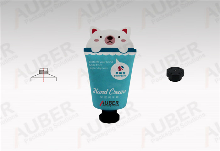 Auber Blue Cat Shape Squeeze Tubes in Dia_35mm with Octagonal Cap