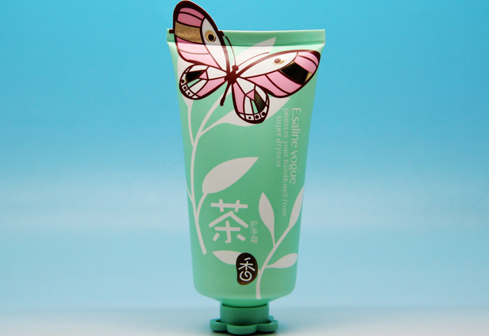 A cute cosmetic tube for baby and children