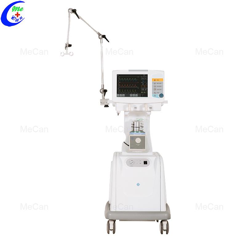 Hospitaal Mediese ICU Ventilator Machine met lugkompressor