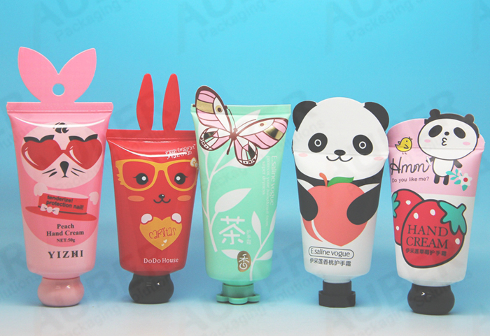 Animal shaped cosmetic tube packaging
