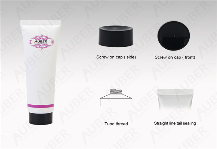 White Tubes For Cosmetics
