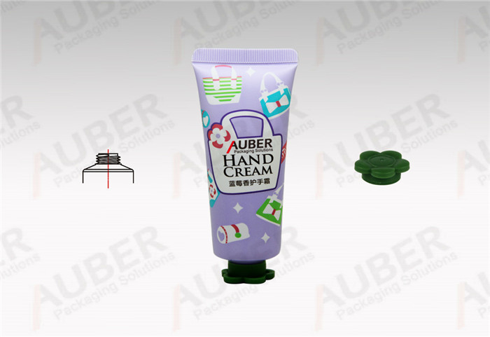 Auber Dia_30mm Skincare Tubes Packaging Supplier with Flower Cap