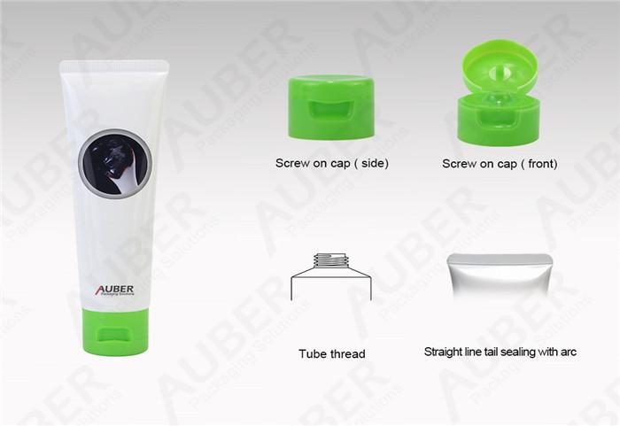 D35mm Cleanser ABL Tubes Manufacturer With Flip Top Cap