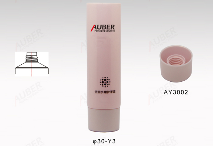 2oz Hand Cream Cosmetics Packaging With Screw-on Cap