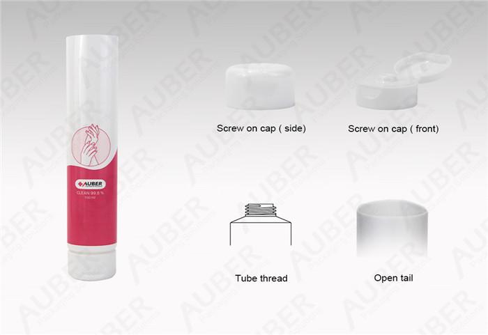Auber D30mm Clear Pigment Packaging Wholesale with Flip Top Cap