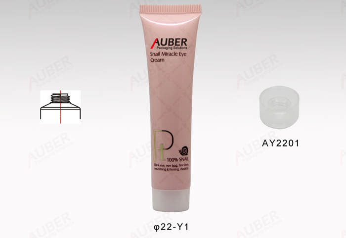 Auber Eco Packaging Cosmetics With White Screw-on Cap