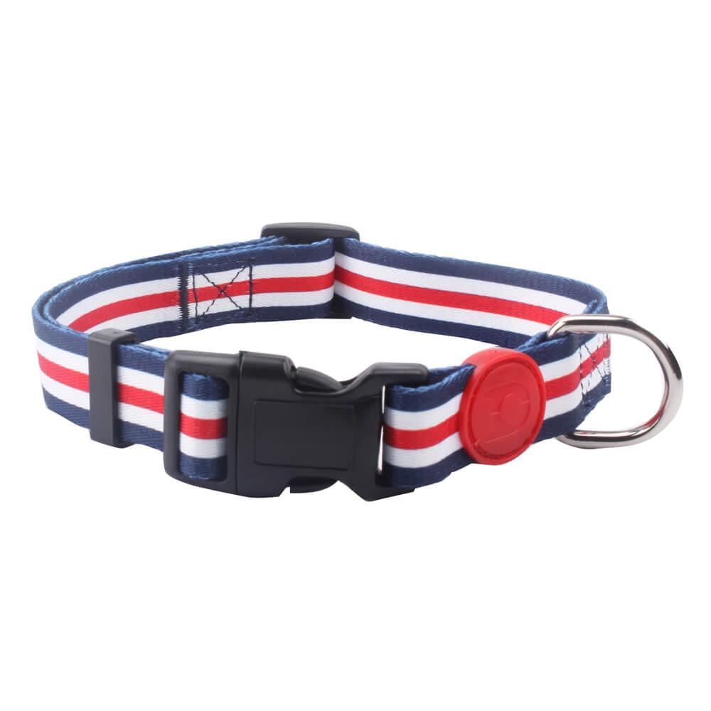 Large Pet Collar: Hot Sale Polyester Heat Transfer Printed Pet Collar Supply