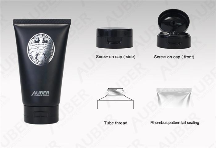 Men Facial Cleanser Cosmetic Packaging