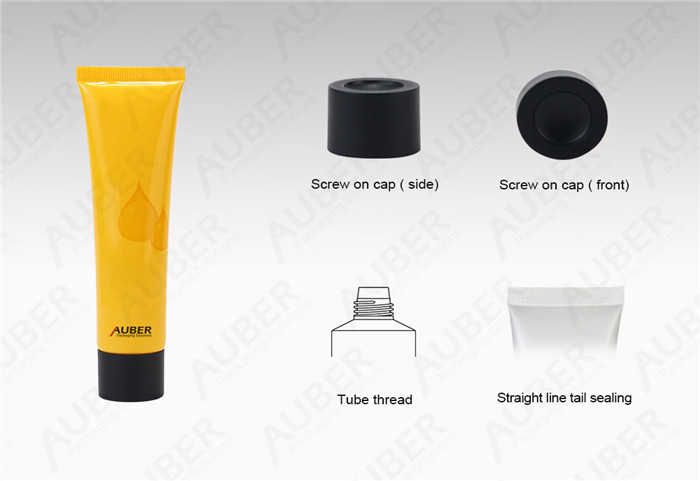 D30mm Hand Cream Packaging Tubes with Screw Cap
