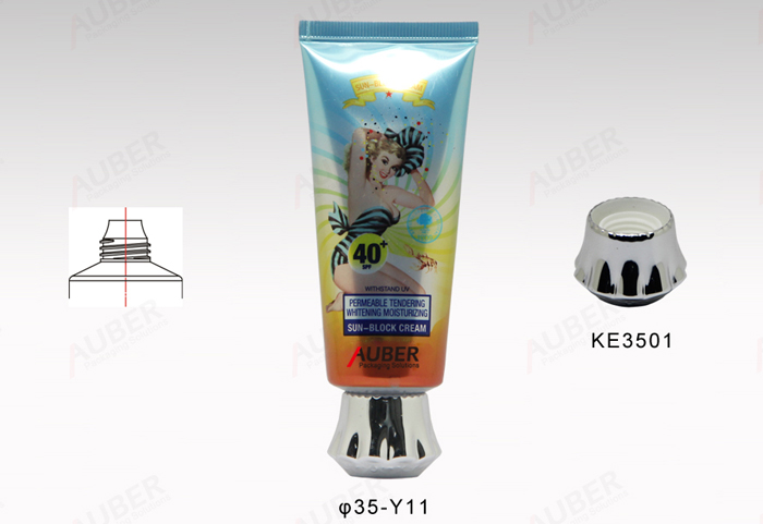 D35mm Round Eco Friendly Tube Packaging