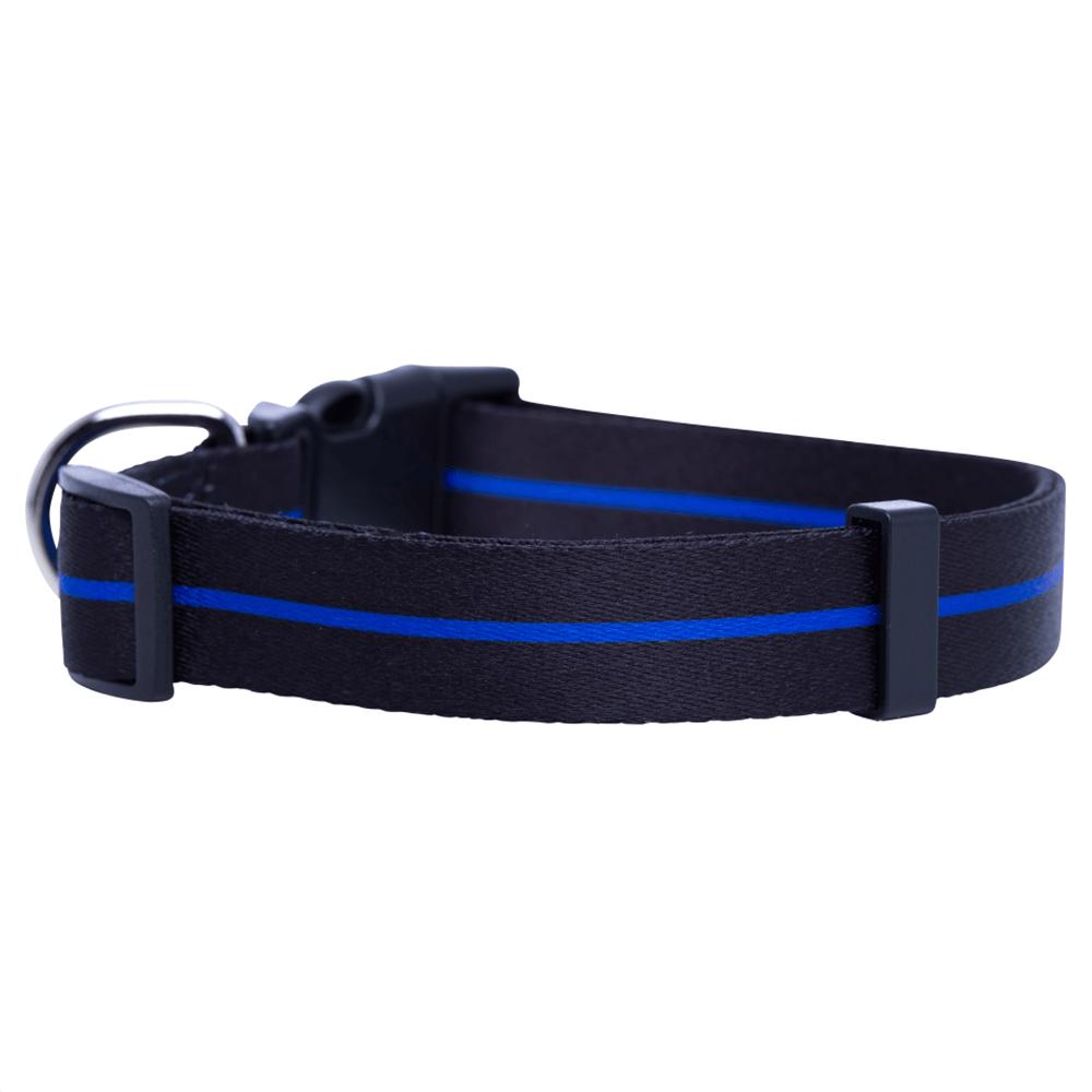 Blue dog collar: Wholesale dog training collar with custom logo-QQPETS