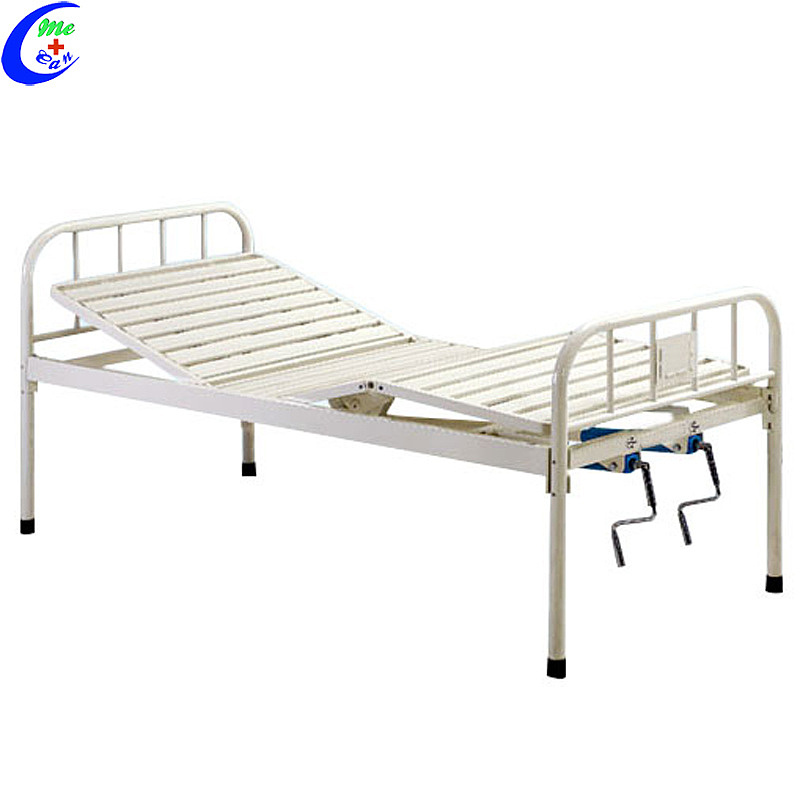 2 Crank hospitaal meubels mediese handleiding hospitaalbed