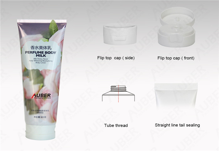 50Mm Abl Metal Cosmetic Tubes With Cmyk For Makeup