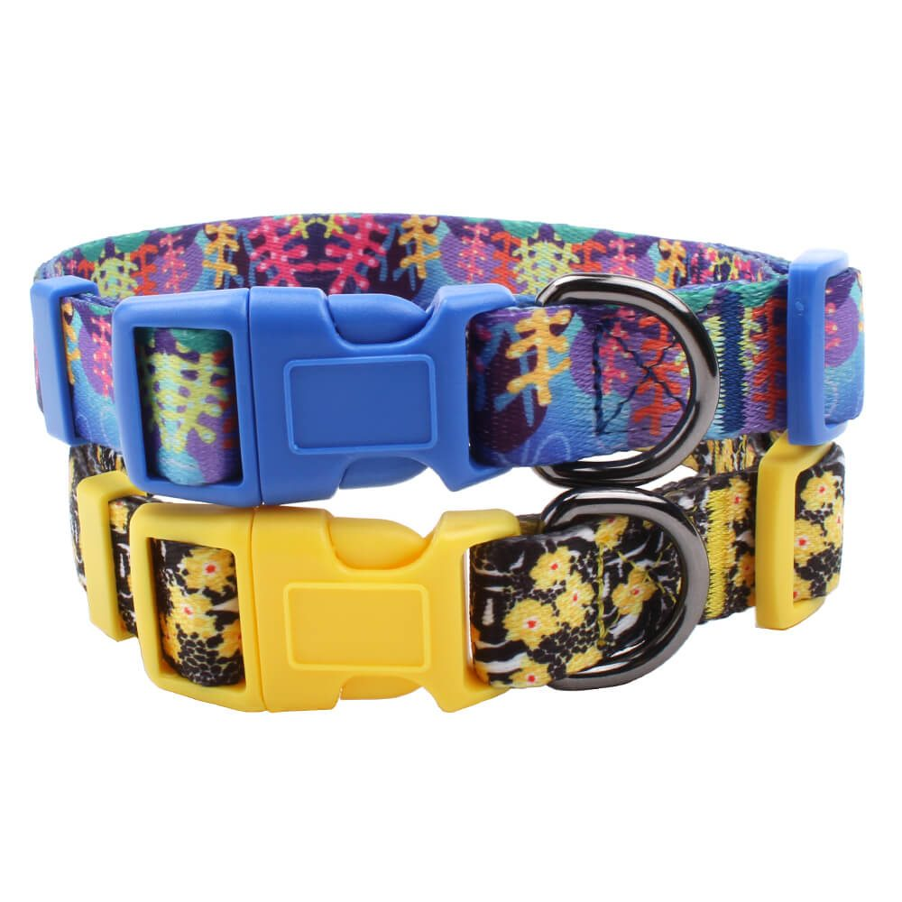 promotion polyester dog collars
