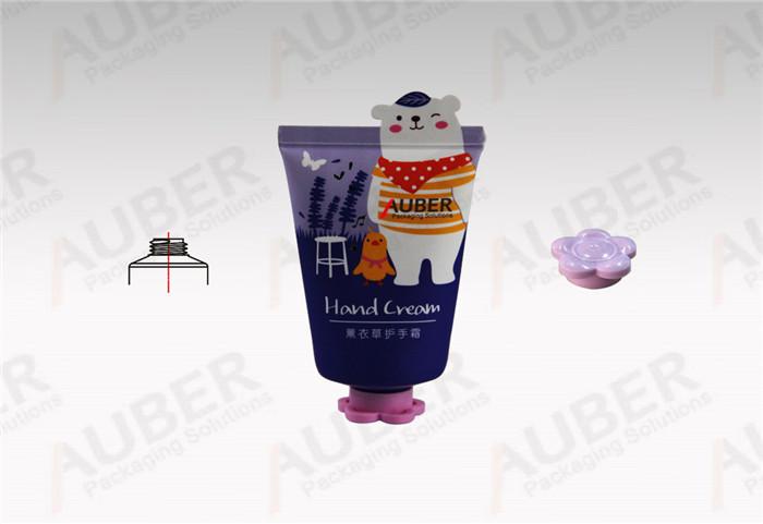 Auber Dia_35mm Bear Shape Plastic Squeeze Tubes with Flower Cap