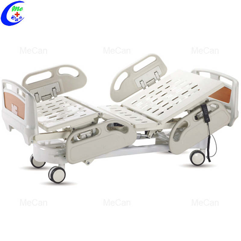Hospitaalmeubels Mediese ICU 5 funksie Elektriese verpleegsorg hospitaalbed