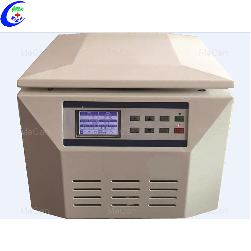سطح المكتب منخفضة السرعة الطبية مختبر الدم آلة الطرد المركزي