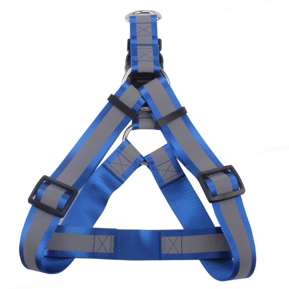 Glow Dog Harness: Wholesale Large Dog Harness With Reflective Band Supply | qqpets