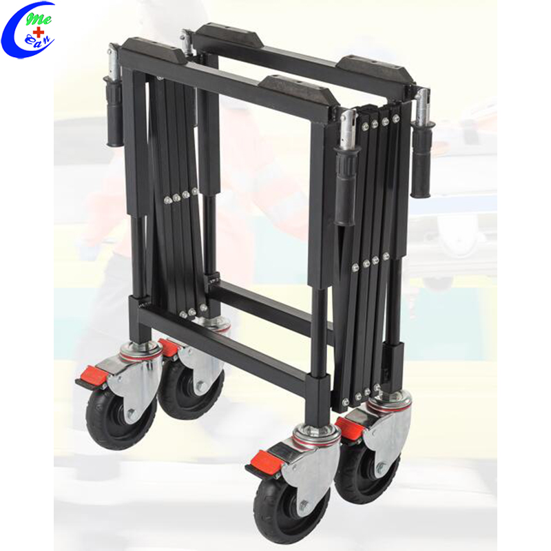 collapsible trolley with wheels